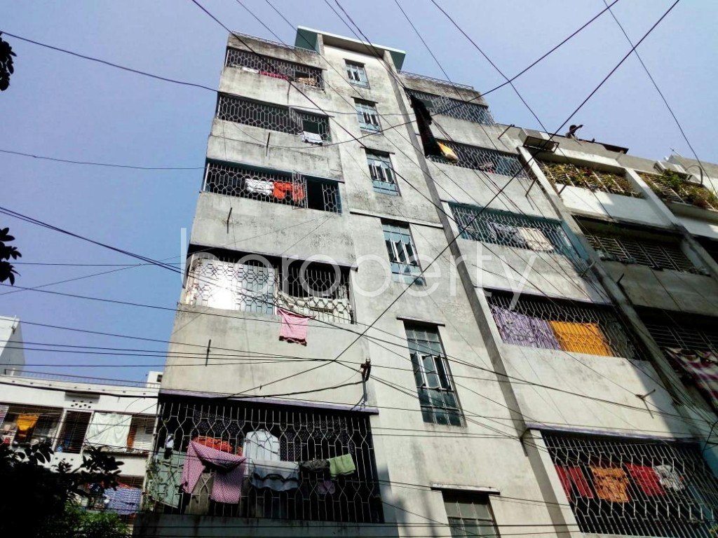 Outside view - 2 Bed Apartment to Rent in Lalmatia, Dhaka - 1833136