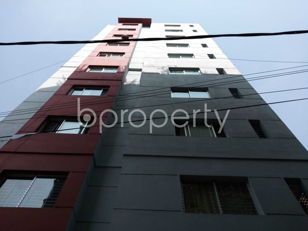 Front view - 3 Bed Apartment for Sale in Bakalia, Chattogram - 1833346