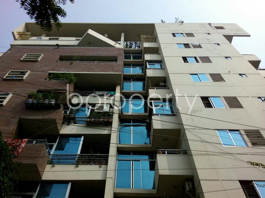 Front view - 3 Bed Apartment to Rent in Lalmatia, Dhaka - 1833584