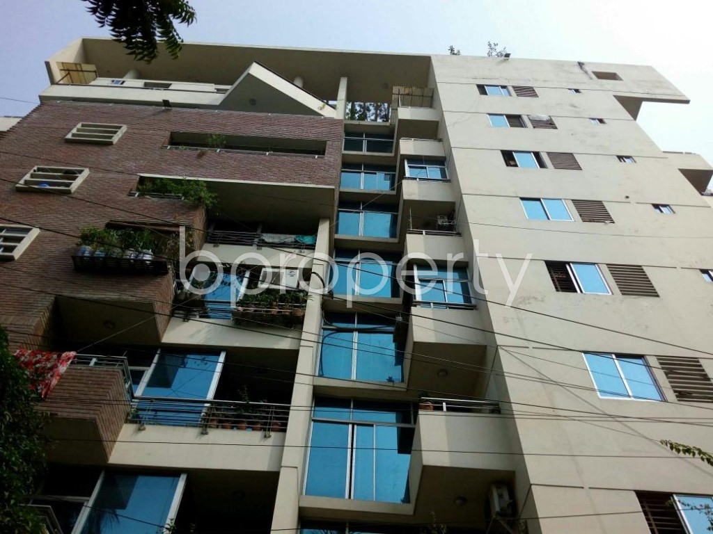 Front view - 3 Bed Apartment to Rent in Lalmatia, Dhaka - 1833593
