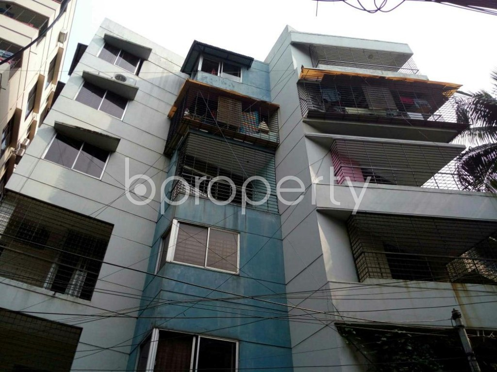 Front view - 3 Bed Apartment to Rent in Lalmatia, Dhaka - 1833601