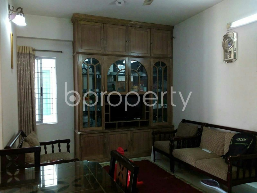Dining area - 2 Bed Apartment for Sale in Dhanmondi, Dhaka - 1834541