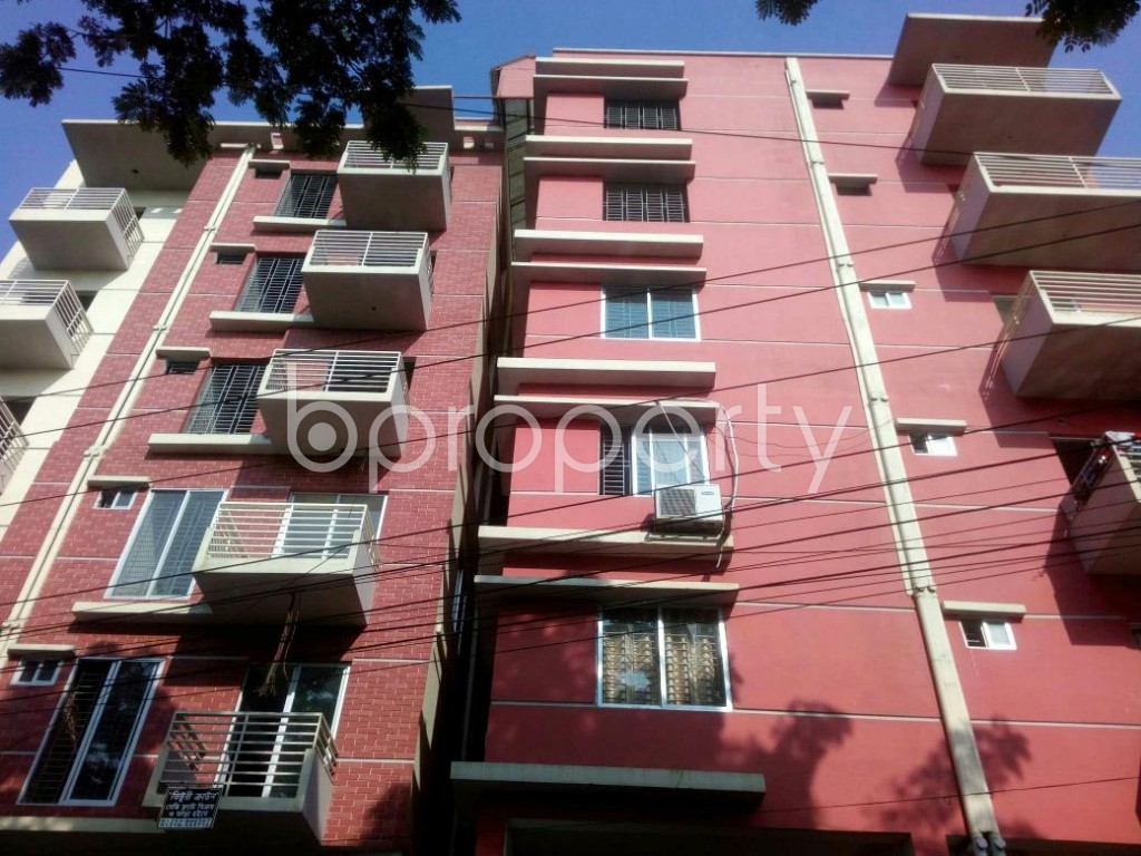 Front view - 3 Bed Apartment for Sale in Uttar Khan, Dhaka - 1835664
