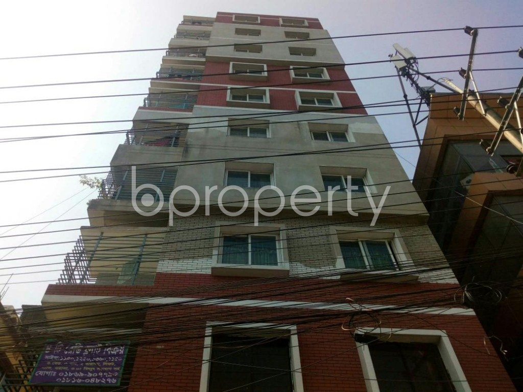 Outside view - 3 Bed Apartment for Sale in Halishahar, Chattogram - 1835786