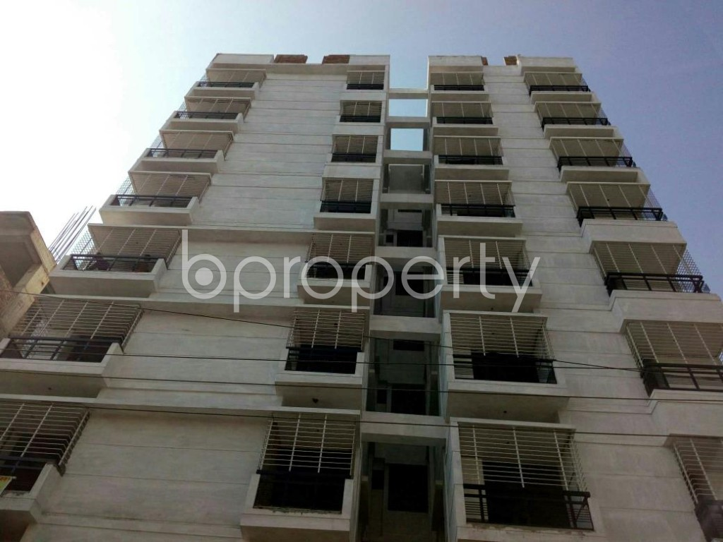 Front view - 2 Bed Apartment for Sale in Mirpur, Dhaka - 1835985