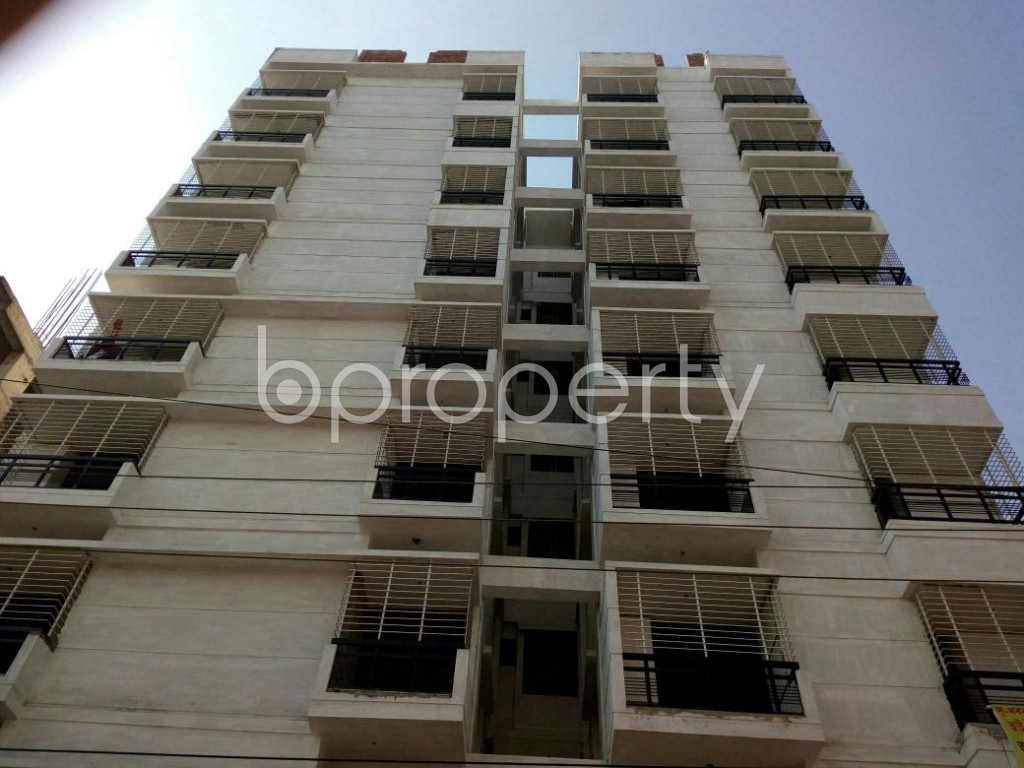 Front view - 2 Bed Apartment for Sale in Mirpur, Dhaka - 1835988
