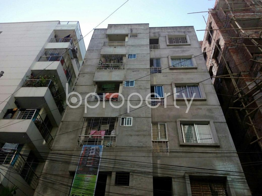 Front view - 2 Bed Apartment for Sale in Uttara, Dhaka - 1836312