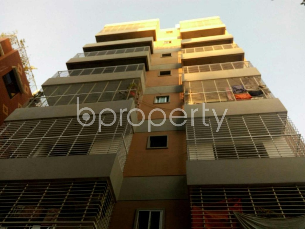 Front view - 3 Bed Apartment for Sale in 11 No. South Kattali Ward, Chattogram - 1836672