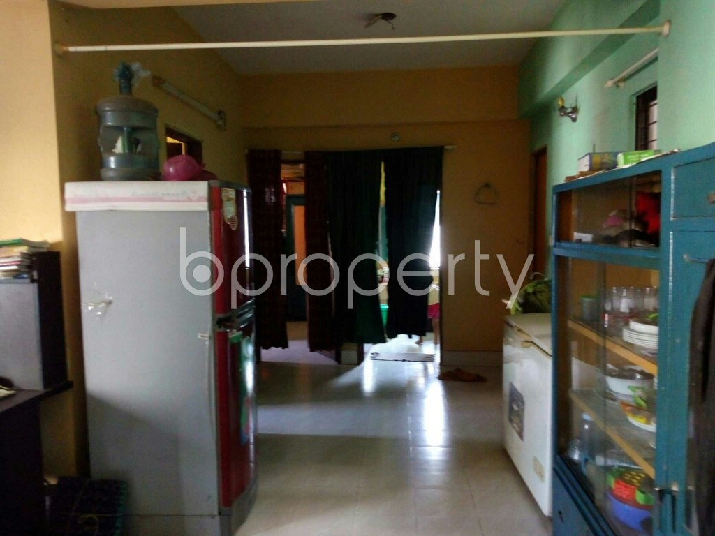 Dine/Dining - 2 Bed Apartment for Sale in Mirpur, Dhaka - 1837310
