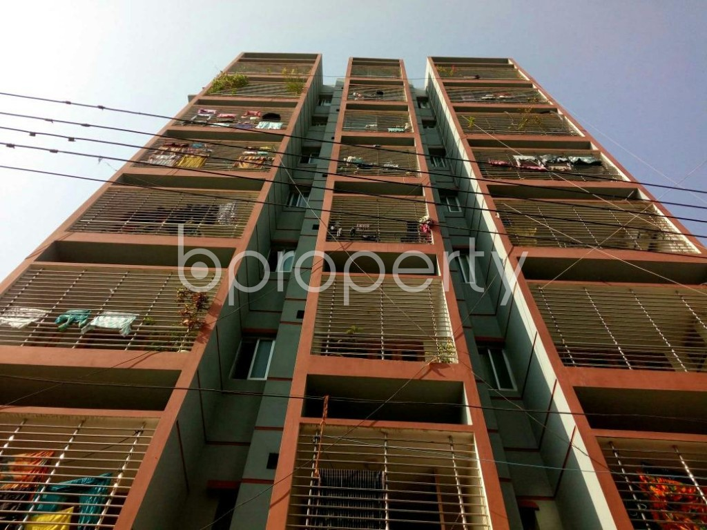 Front view - 3 Bed Apartment for Sale in Mirpur, Dhaka - 1837328