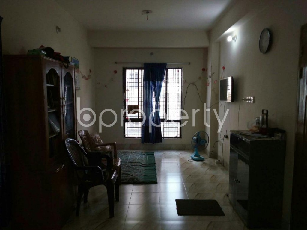 Empty Room - 3 Bed Apartment for Sale in Mohammadpur, Dhaka - 1837329