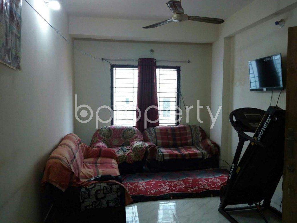 Empty Room - 3 Bed Apartment for Sale in Mohammadpur, Dhaka - 1837332