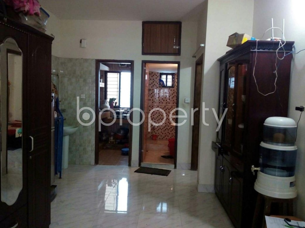 Dining area - 3 Bed Apartment for Sale in Mohammadpur, Dhaka - 1837332