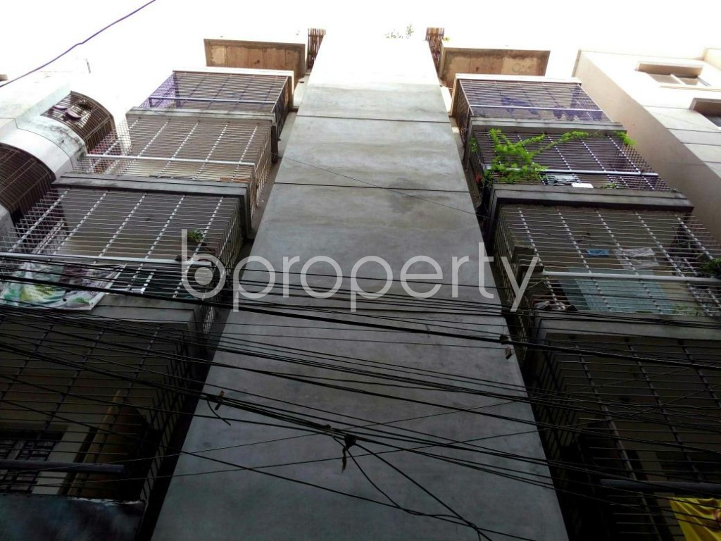 Front view - 3 Bed Apartment for Sale in Mohammadpur, Dhaka - 1837368