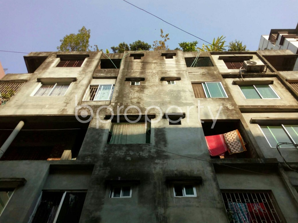 Front view - 3 Bed Apartment for Sale in Mirpur, Dhaka - 1837394