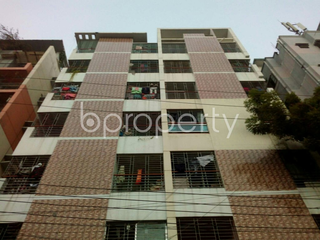 Front view - 2 Bed Apartment for Sale in Mirpur, Dhaka - 1837505