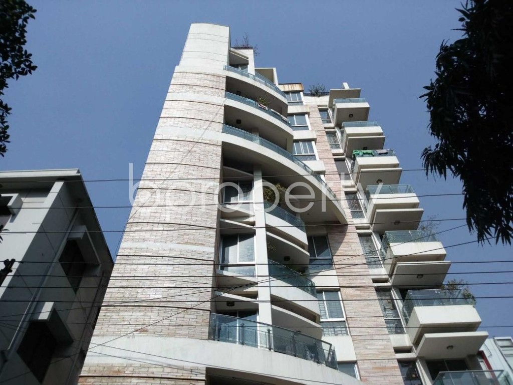 Front view - 3 Bed Apartment to Rent in Banani, Dhaka - 1837510