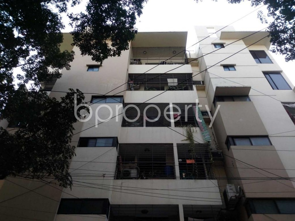 Front view - 3 Bed Apartment to Rent in Banani, Dhaka - 1837513