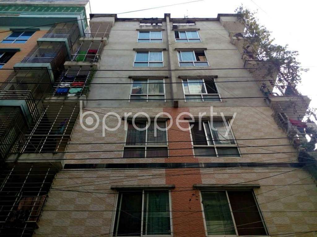 Front view - 3 Bed Apartment for Sale in Mohammadpur, Dhaka - 1837687