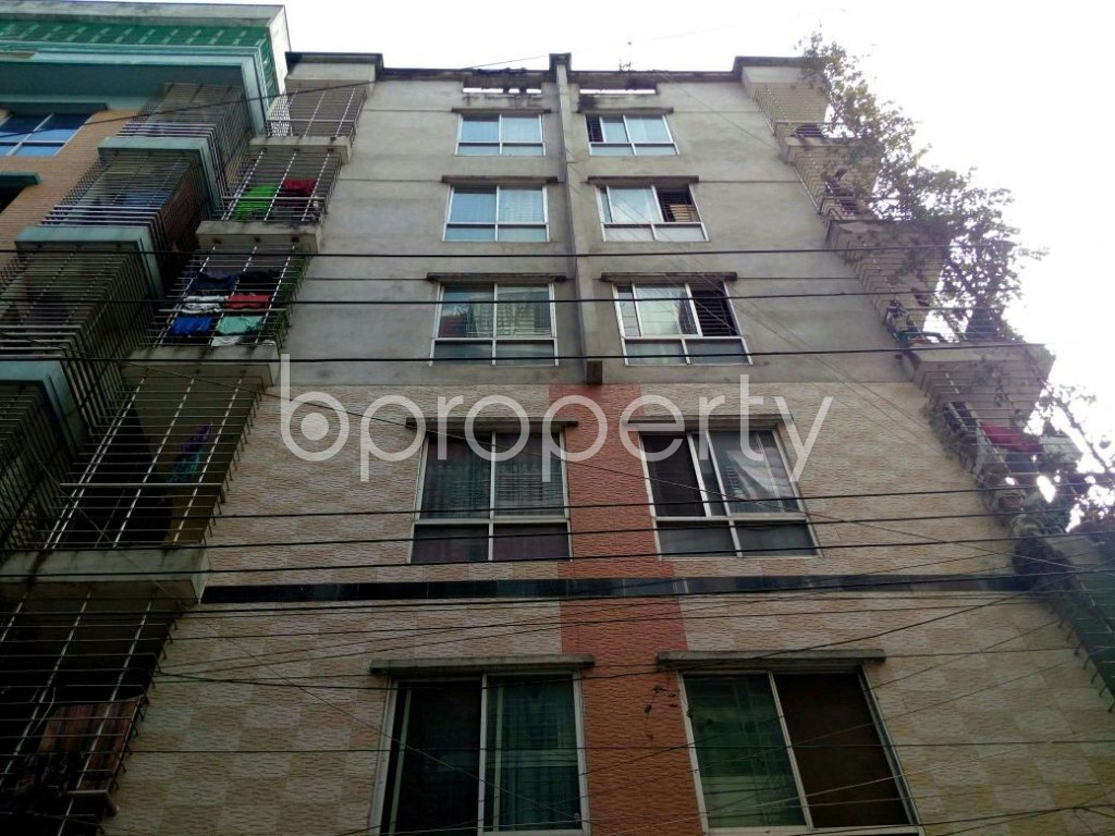 Front view - 3 Bed Apartment for Sale in Mohammadpur, Dhaka - 1837694