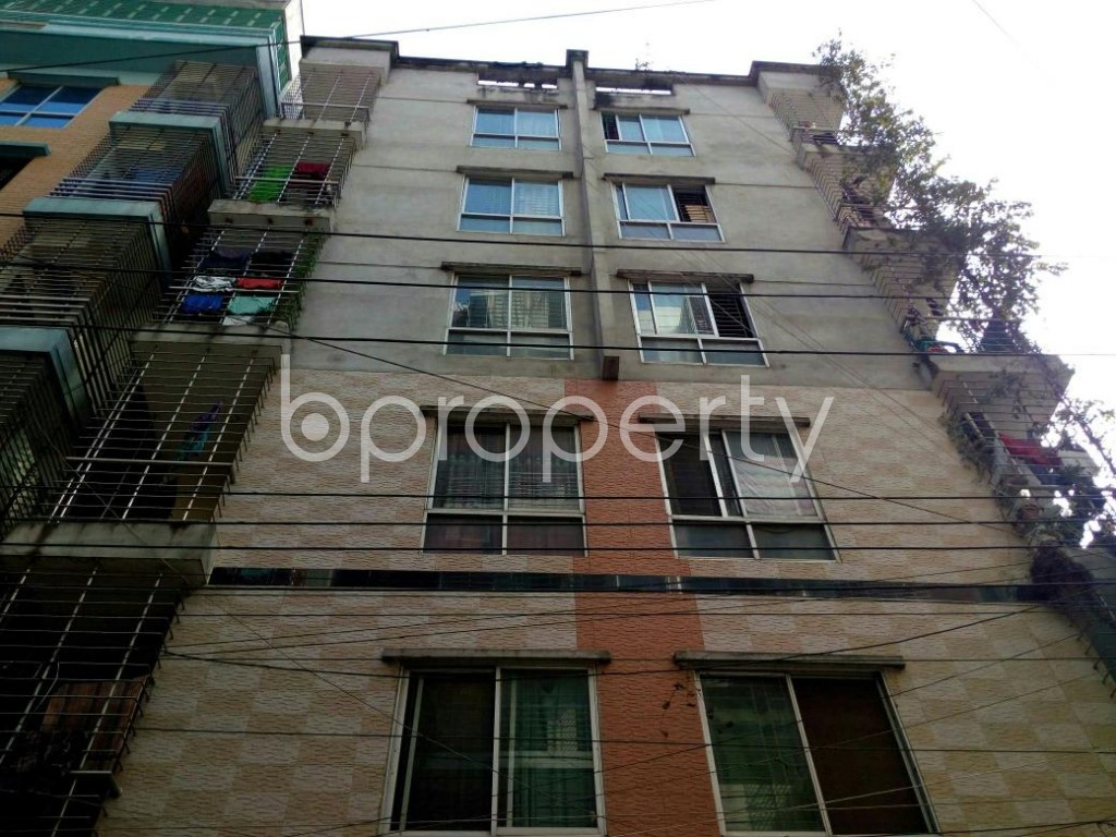 Front view - 3 Bed Apartment for Sale in Mohammadpur, Dhaka - 1837697
