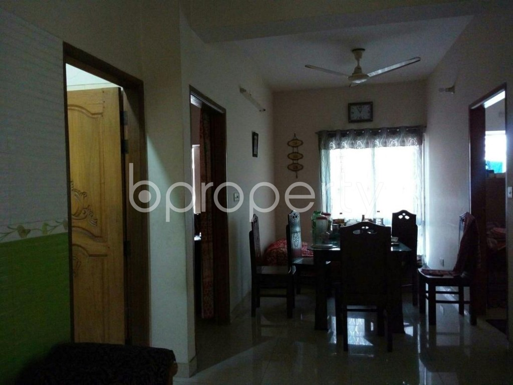 Dine/Dining - 3 Bed Apartment for Sale in Uttara, Dhaka - 1837705