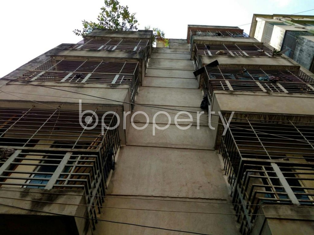 Front view - 2 Bed Apartment for Sale in Mohammadpur, Dhaka - 1837754