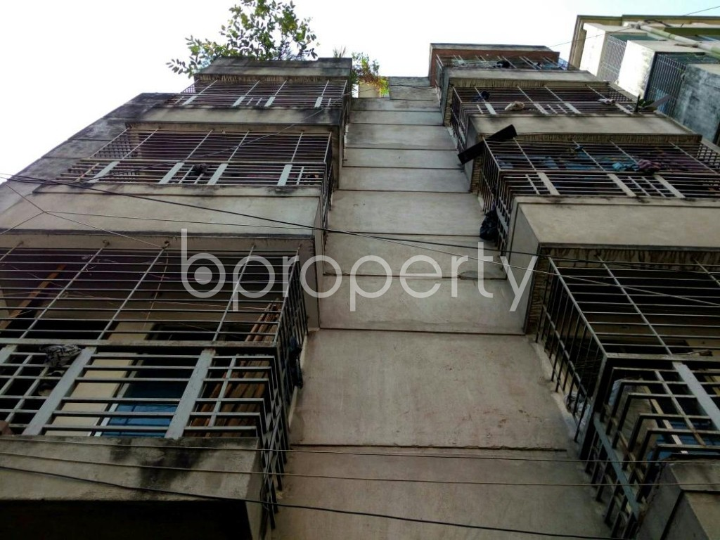 Front view - 2 Bed Apartment for Sale in Mohammadpur, Dhaka - 1837760