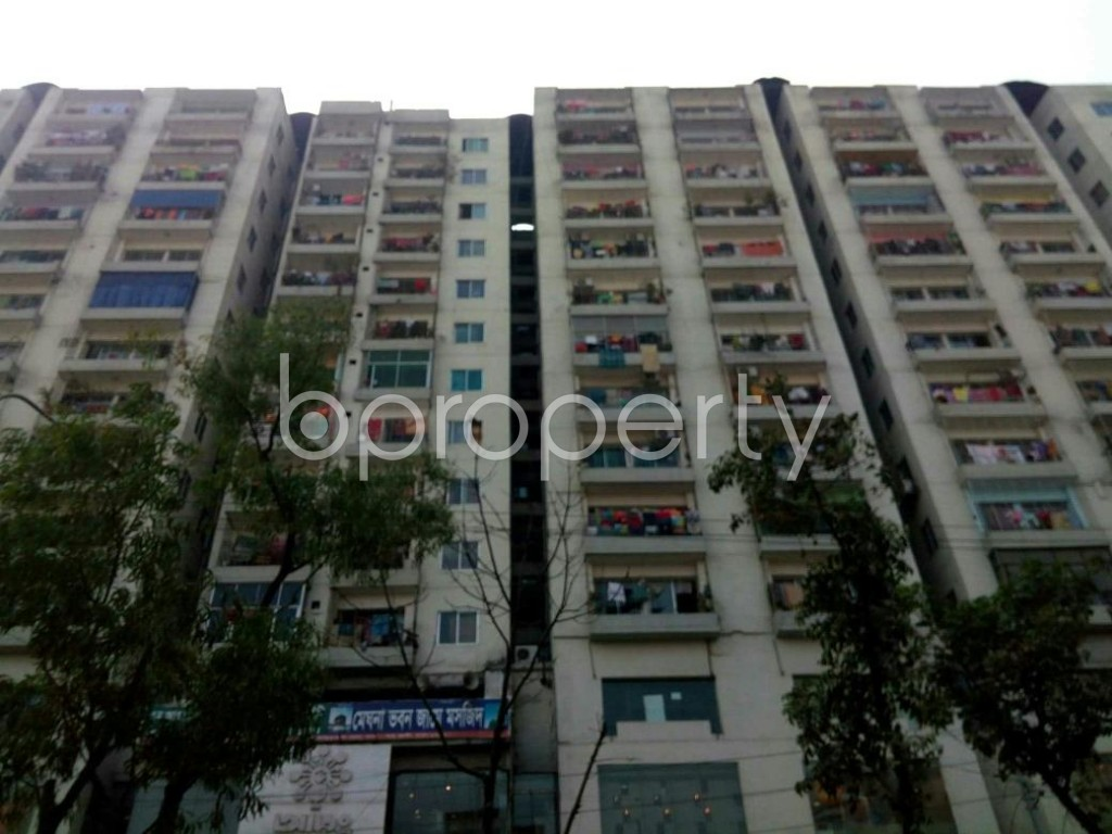 Front view - 3 Bed Apartment for Sale in Mirpur, Dhaka - 1837889
