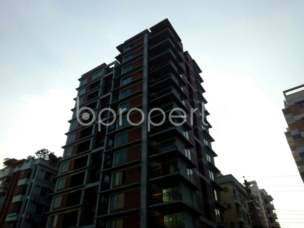 Outside view - 3 Bed Apartment for Sale in Bashundhara R-A, Dhaka - 1837946