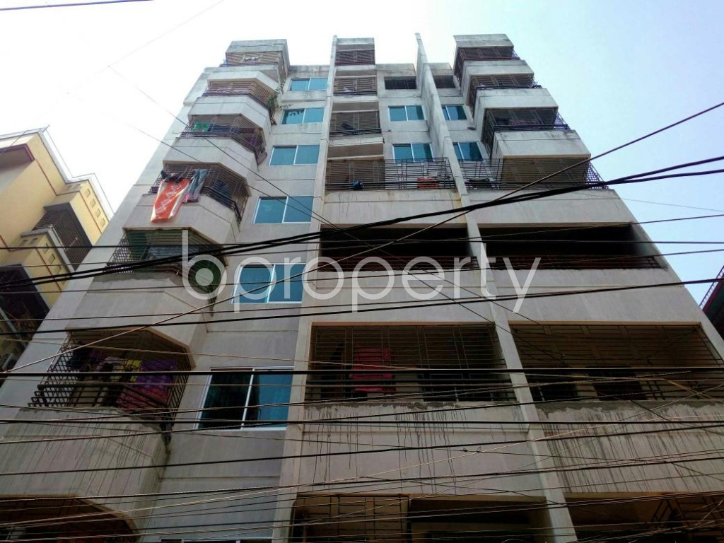 Front view - 3 Bed Apartment for Sale in Mirpur, Dhaka - 1838001