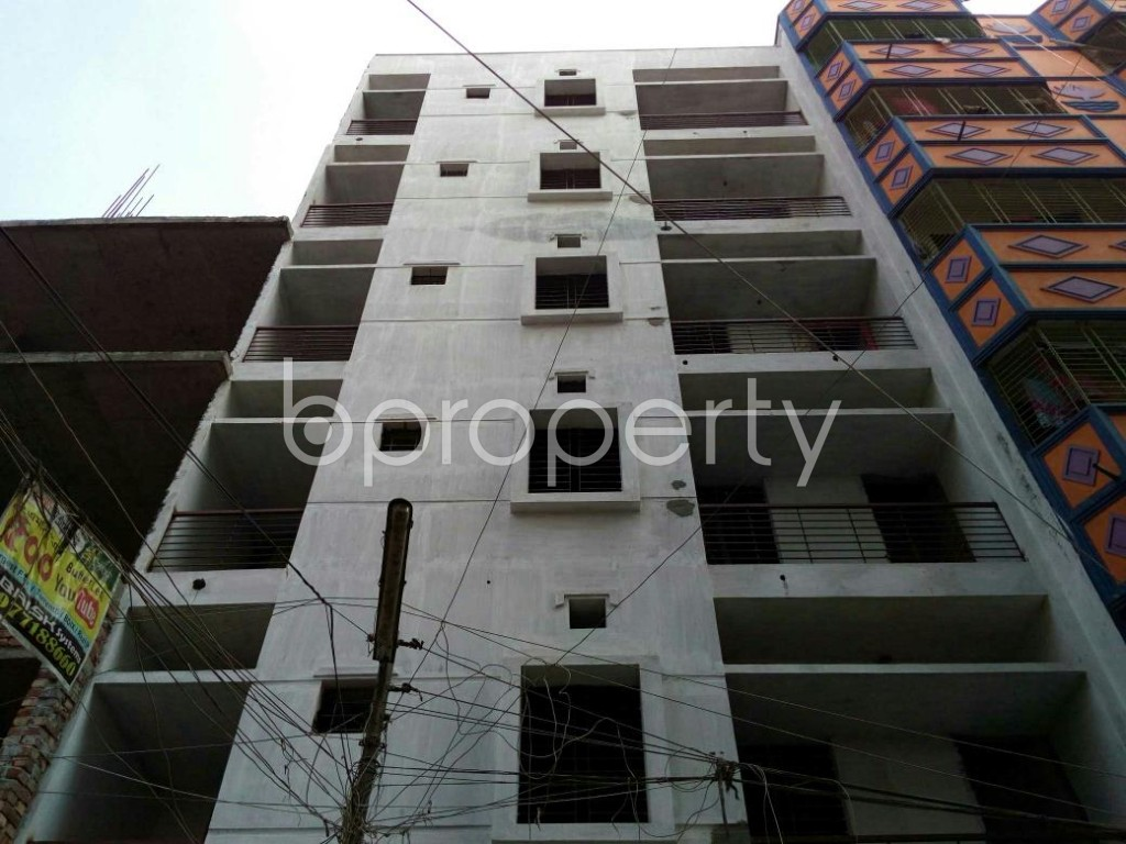 Front view - 2 Bed Apartment for Sale in Mohammadpur, Dhaka - 1838055