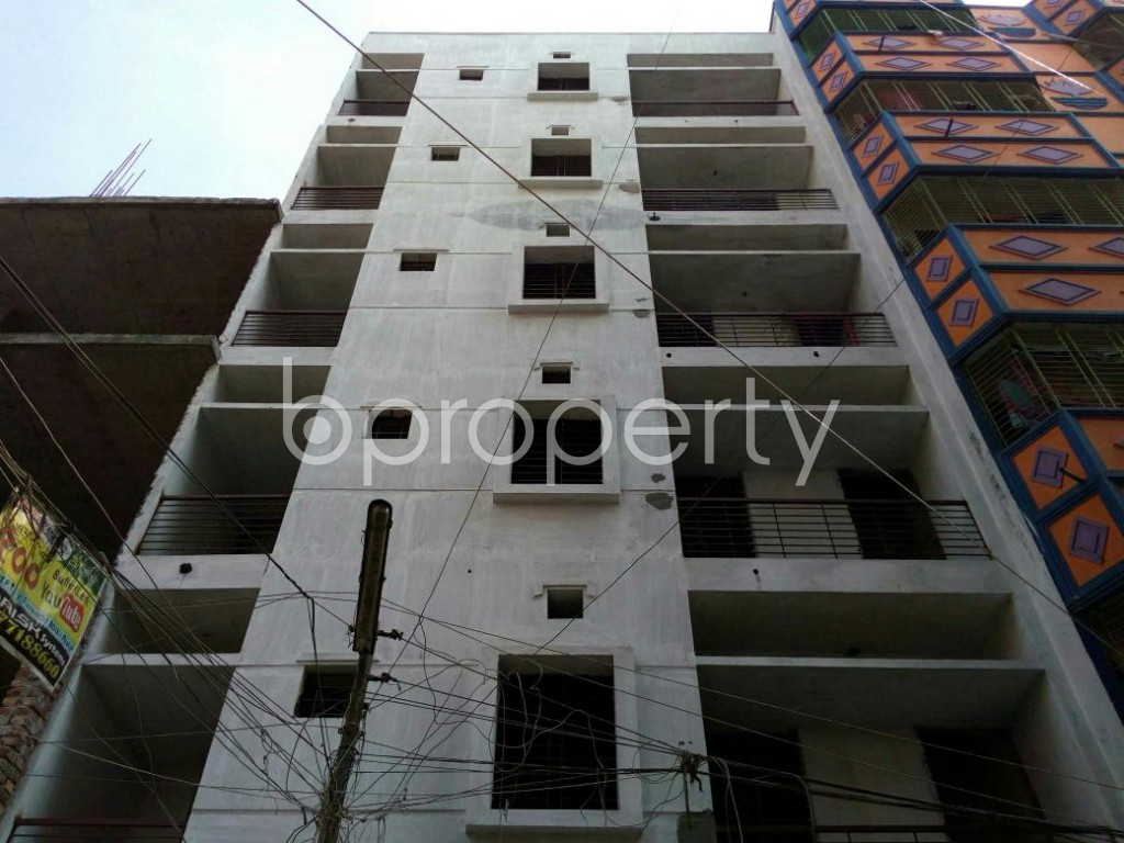 Front view - 2 Bed Apartment for Sale in Mohammadpur, Dhaka - 1838057