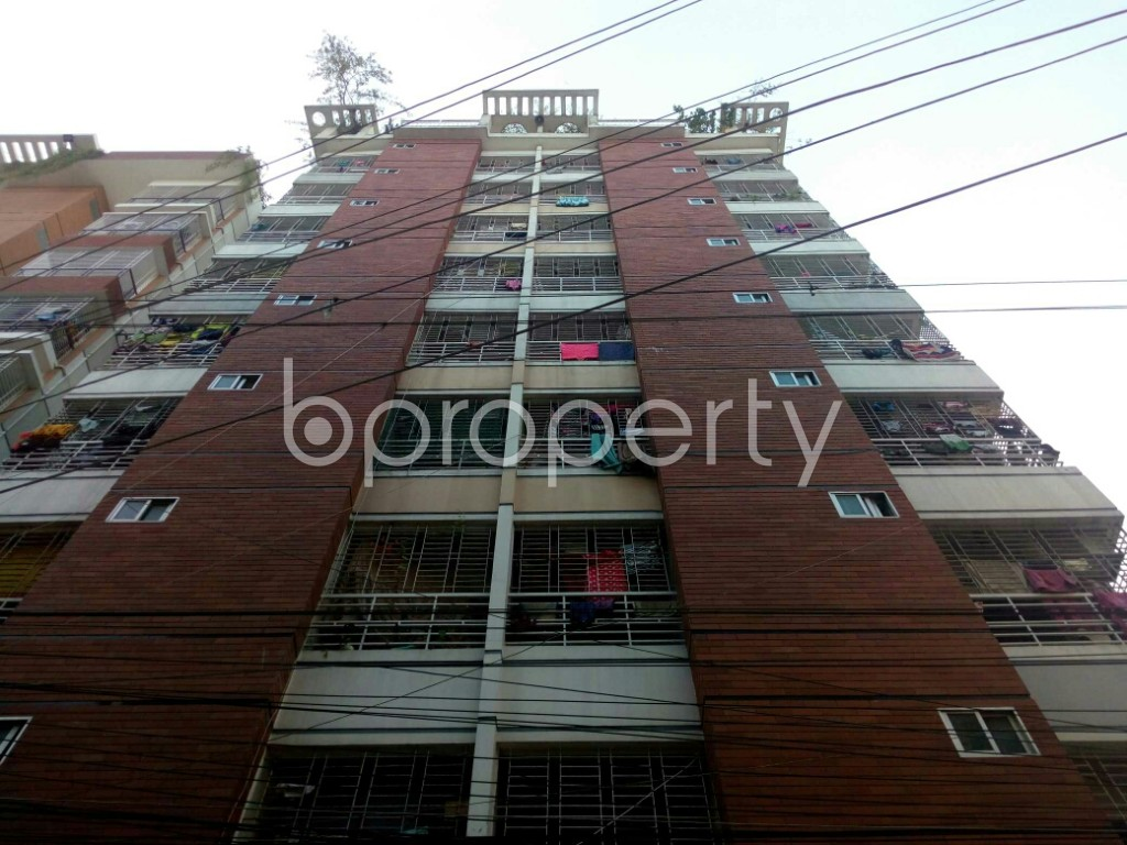 Front view - 3 Bed Apartment for Sale in Mirpur, Dhaka - 1838340