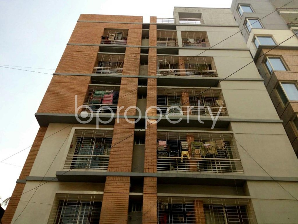 Front view - 3 Bed Apartment for Sale in Mohammadpur, Dhaka - 1838349