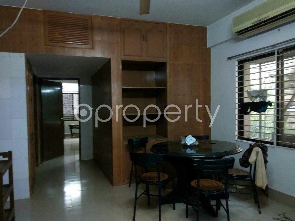Dine/Dining - 4 Bed Apartment to Rent in Dhanmondi, Dhaka - 1838350