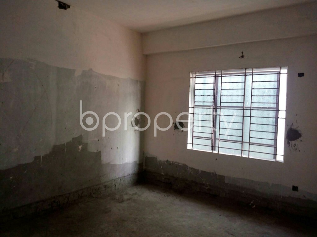 Empty Room - 3 Bed Apartment for Sale in Bashundhara R-A, Dhaka - 1838643