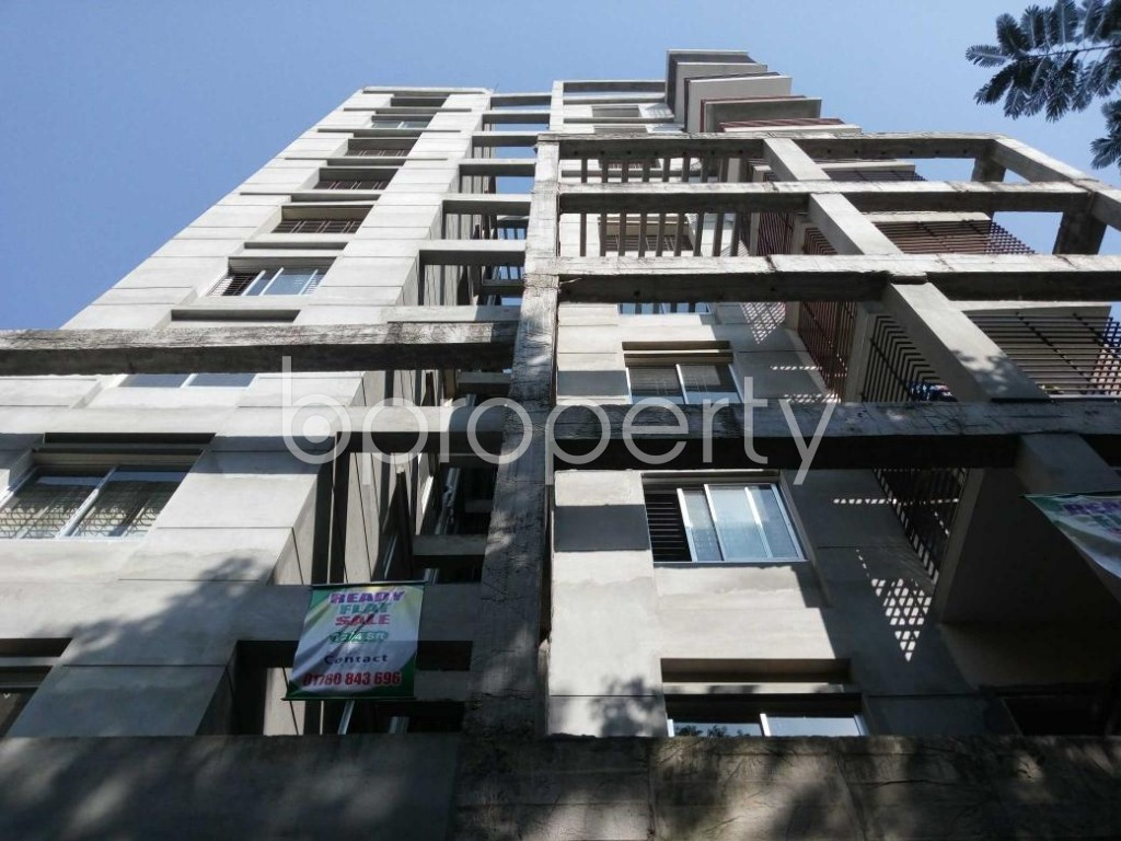 Front view - 3 Bed Apartment for Sale in Mirpur, Dhaka - 1838740