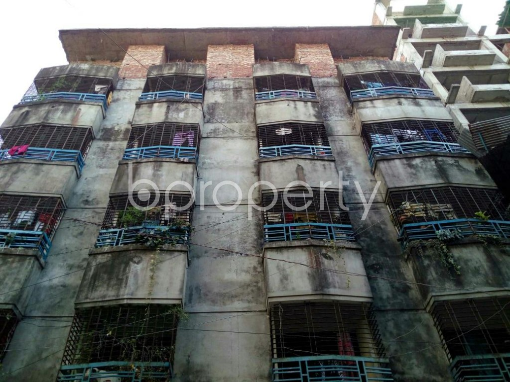 Front view - 2 Bed Apartment to Rent in Lalmatia, Dhaka - 1838831