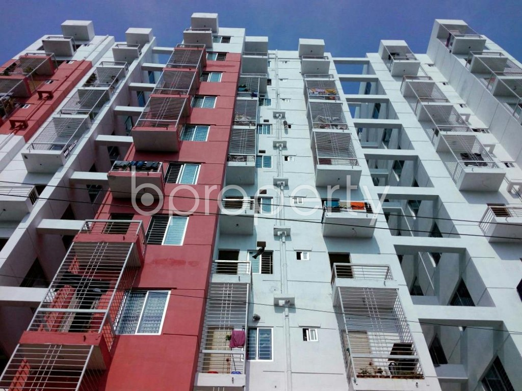 Front view - 3 Bed Apartment to Rent in Mohammadpur, Dhaka - 1838953