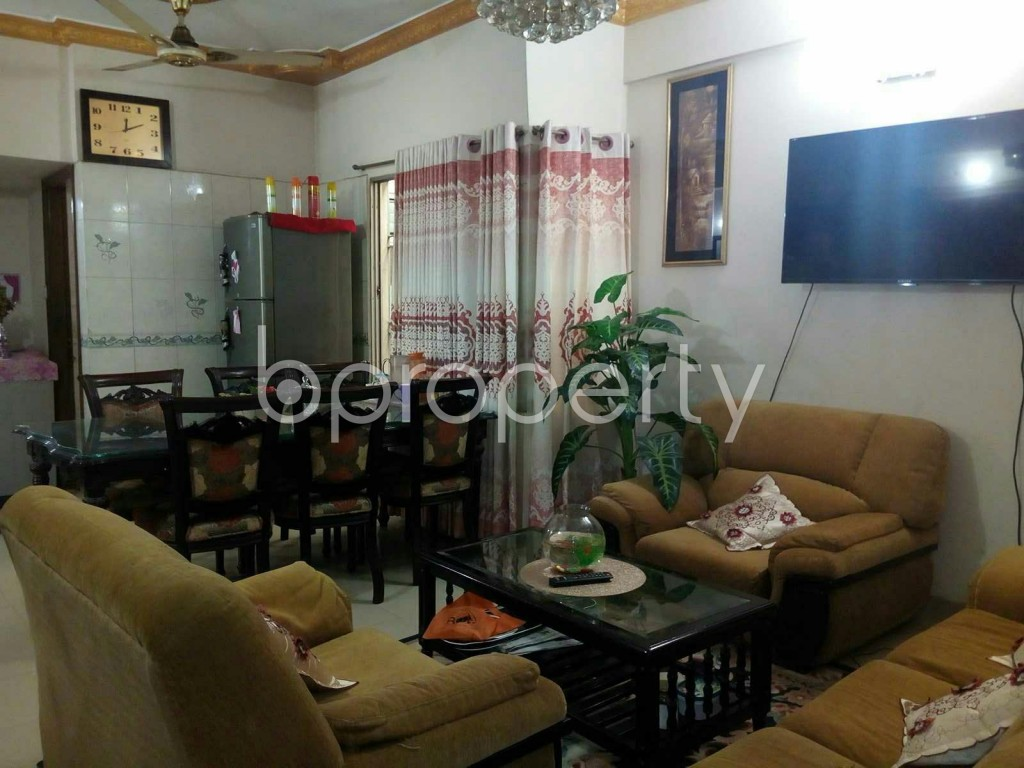 Dine/Dining - 3 Bed Apartment for Sale in Mirpur, Dhaka - 1839037
