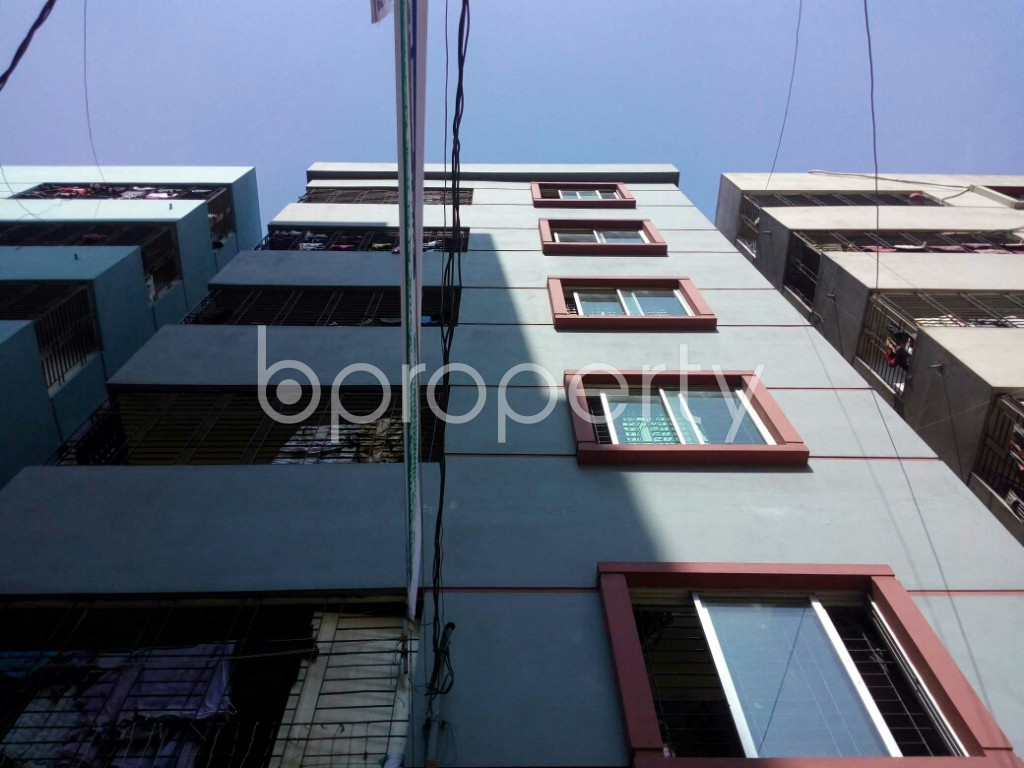 Front view - 3 Bed Apartment for Sale in Mirpur, Dhaka - 1839043