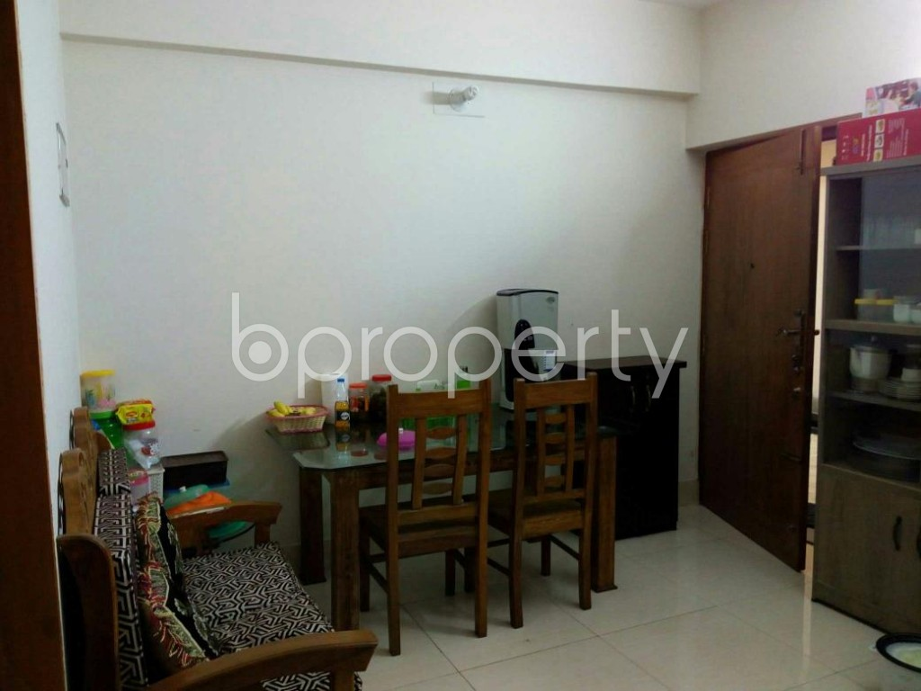 Dining area - 2 Bed Apartment to Rent in Mohammadpur, Dhaka - 1839074