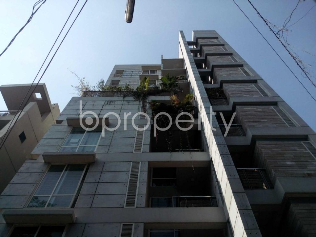 Front view - 3 Bed Apartment for Sale in Banani, Dhaka - 1839145