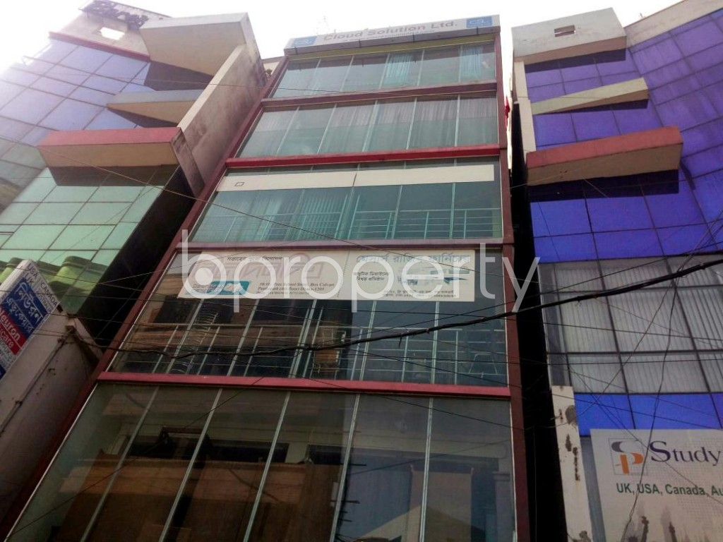 Front view - Office to Rent in Kathalbagan, Dhaka - 1839175