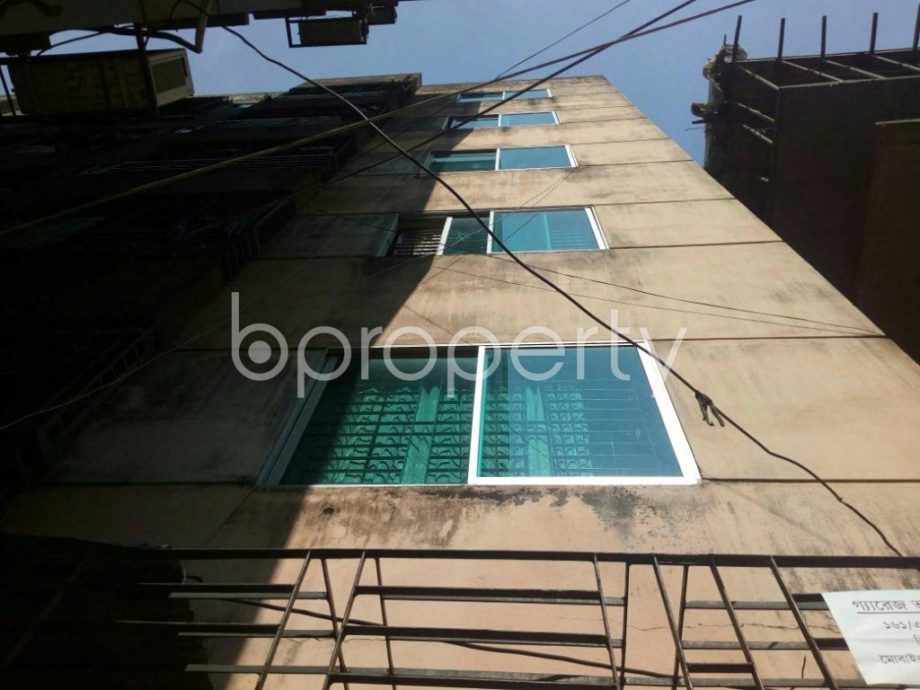 Outside view - 2 Bed Apartment for Sale in Shantinagar, Dhaka - 1839221