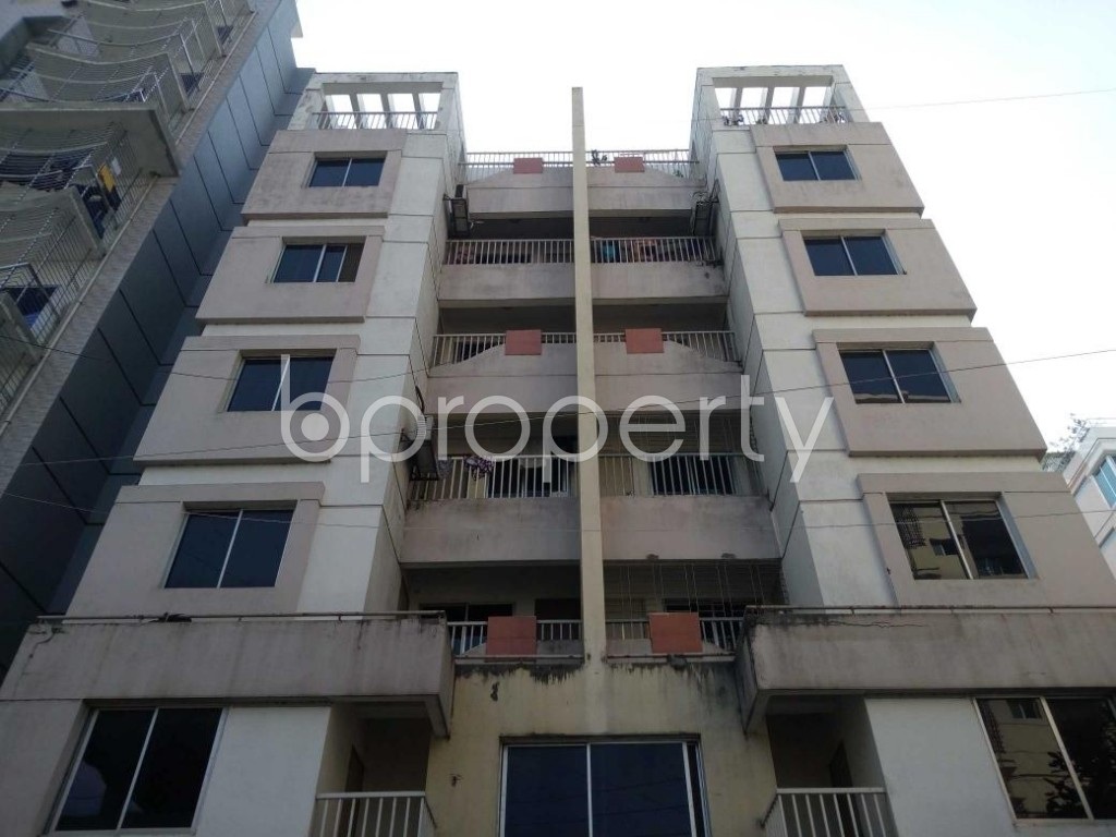 Front view - 3 Bed Apartment to Rent in Uttara, Dhaka - 1839266