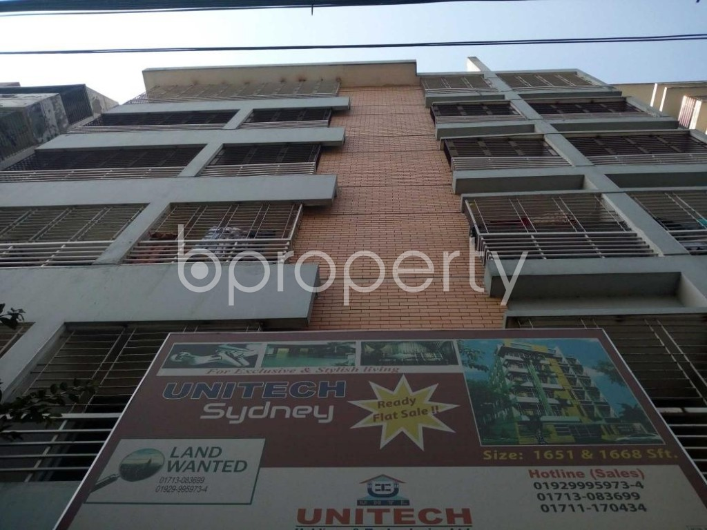 Front view - 3 Bed Apartment to Rent in Uttara, Dhaka - 1839267