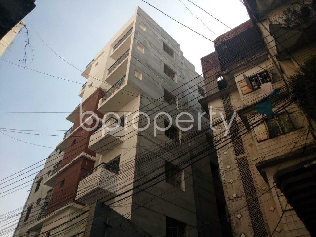 Outside view - 3 Bed Apartment for Sale in Maghbazar, Dhaka - 1839292