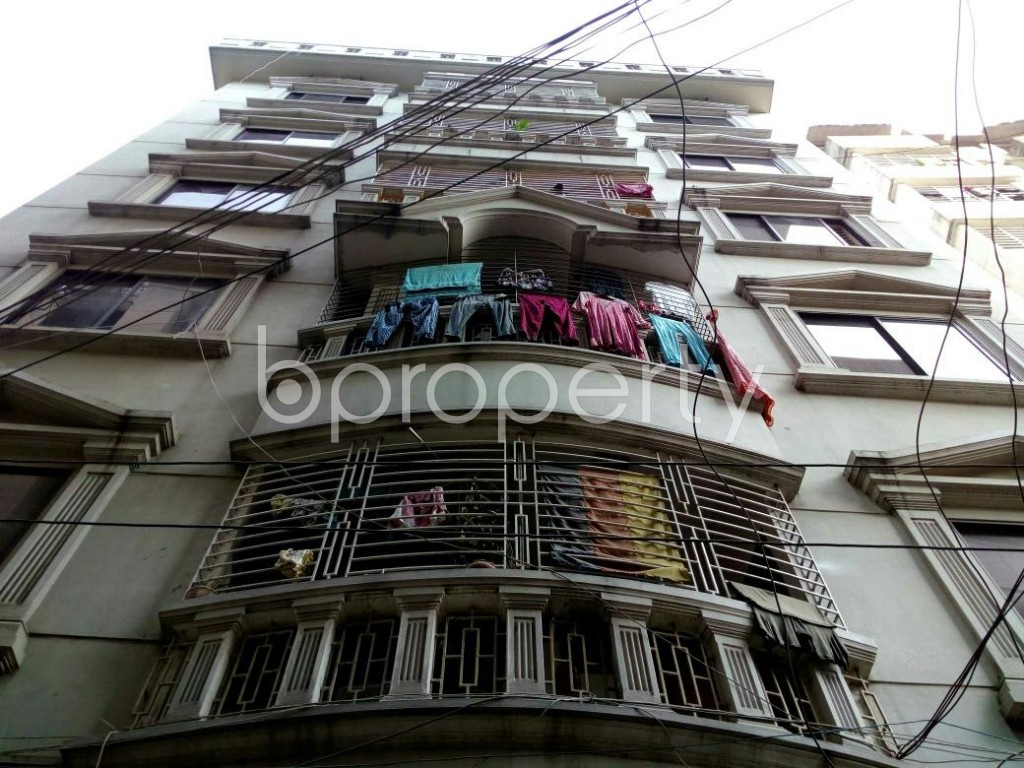 Front view - 2 Bed Apartment to Rent in Dhanmondi, Dhaka - 1839313